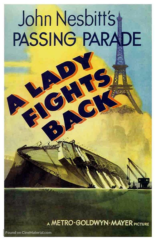 A Lady Fights Back - Movie Poster