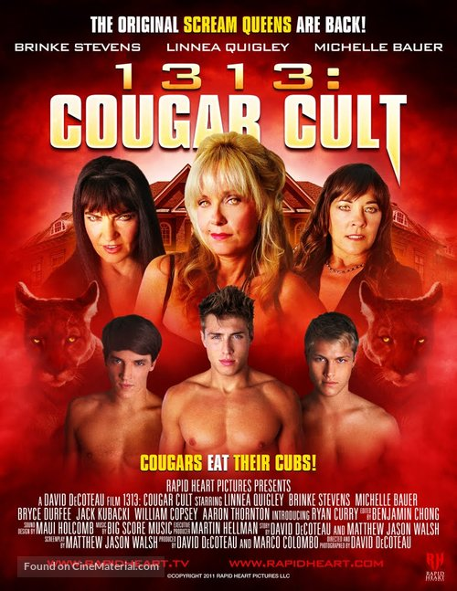 1313: Cougar Cult - Movie Poster