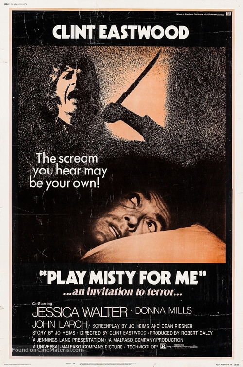 Play Misty For Me - Movie Poster