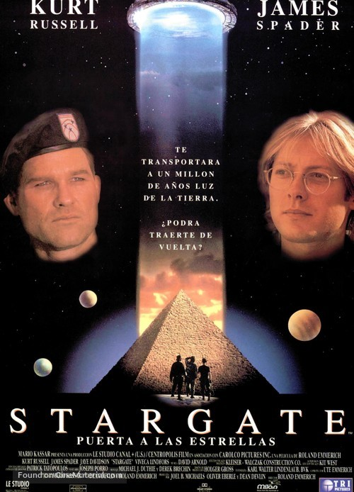 Stargate - Spanish Movie Poster