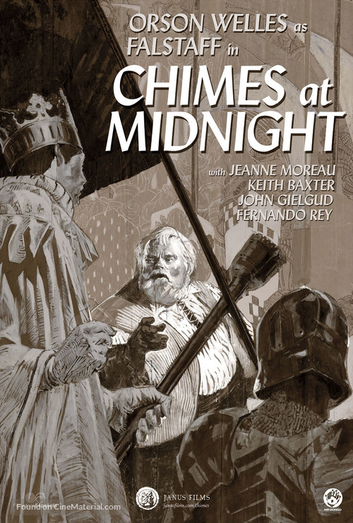 Chimes at Midnight - Re-release movie poster