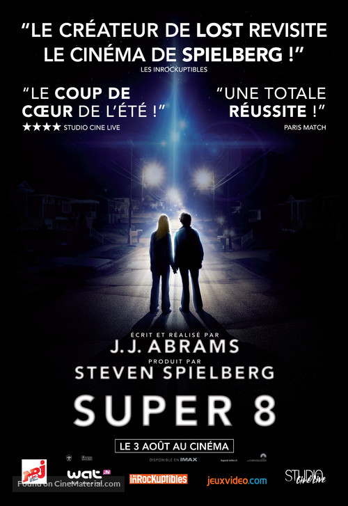 Super 8 - French Movie Poster