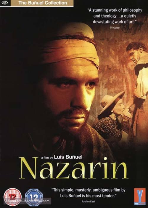 Nazarín - British DVD movie cover