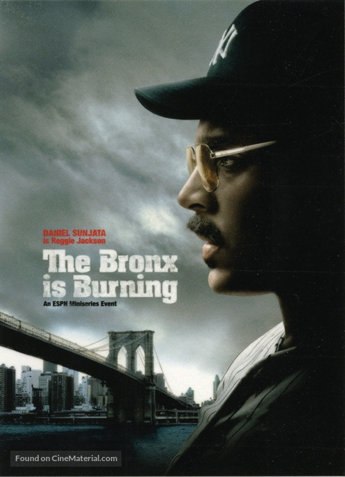 """The Bronx Is Burning"" - Movie Poster"