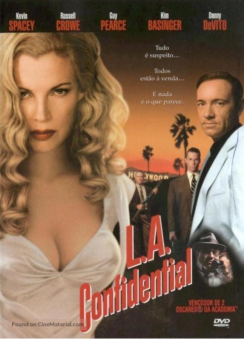 L.A. Confidential - Portuguese Movie Cover