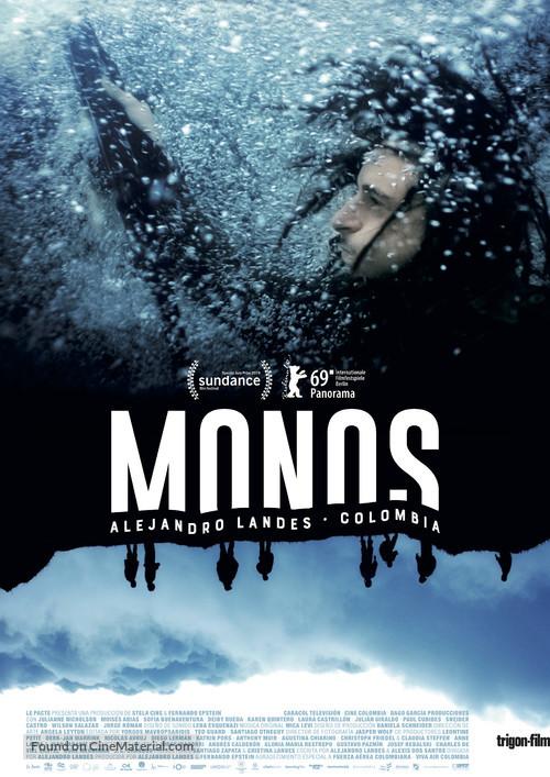 Monos - Swiss Movie Poster