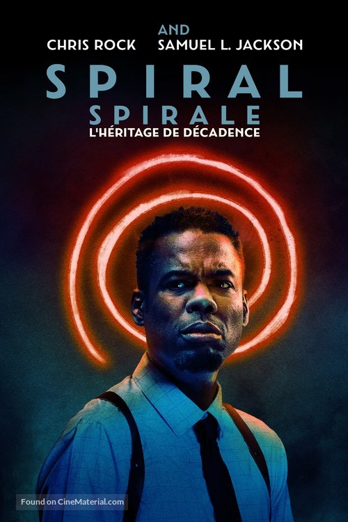 Spiral: From the Book of Saw - Canadian Movie Cover