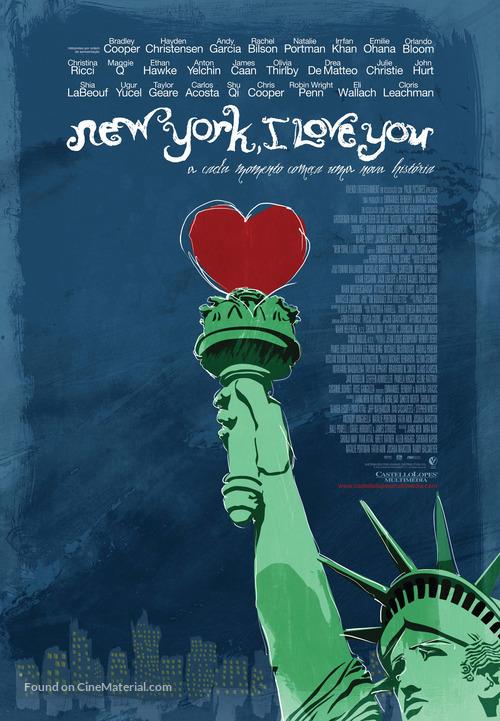 New York, I Love You - Portuguese Movie Poster