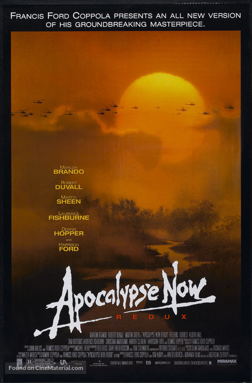 Apocalypse Now - Re-release movie poster