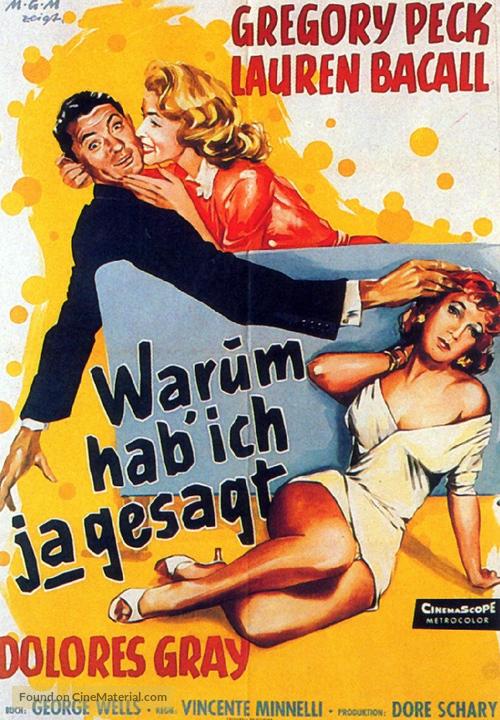 Designing Woman - German Movie Poster