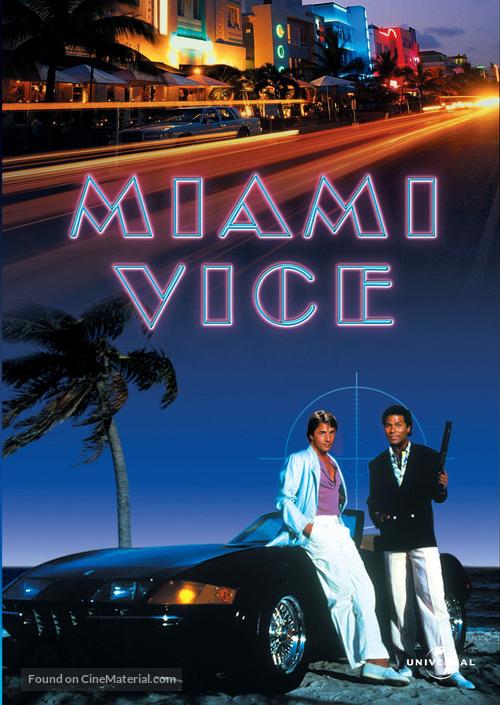 """""""Miami Vice"""" - DVD movie cover"""