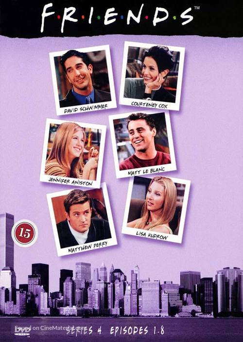 """Friends"" - Danish DVD movie cover"