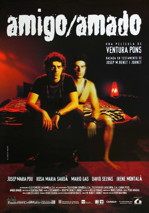 Amic/Amat - Spanish Movie Poster