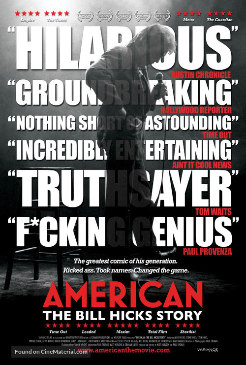 American: The Bill Hicks Story - Movie Poster