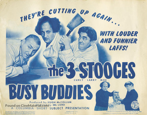 Busy Buddies - Movie Poster