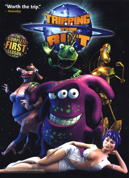 """""""Tripping the Rift"""" - DVD movie cover"""
