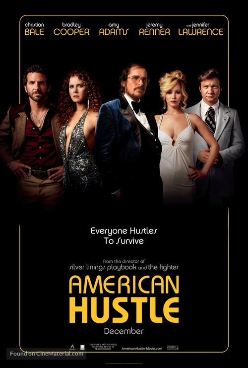 American Hustle - Movie Poster