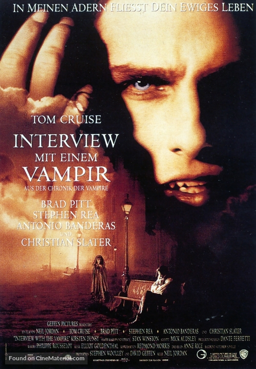 Interview With The Vampire - German Movie Poster