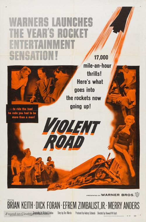 Violent Road - Movie Poster
