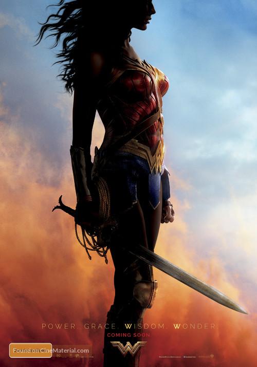 Wonder Woman - Australian Movie Poster