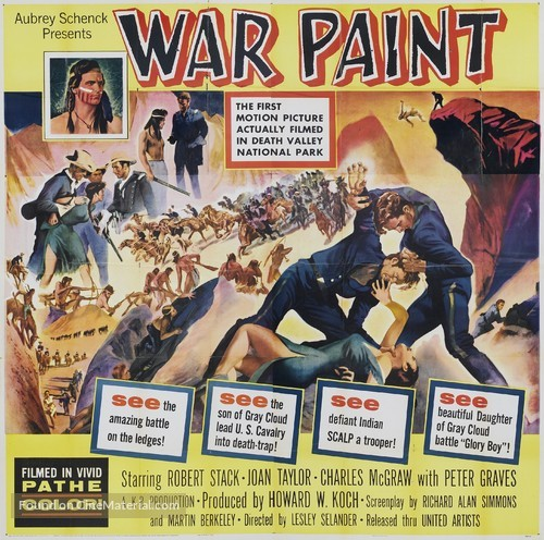 War Paint - Movie Poster