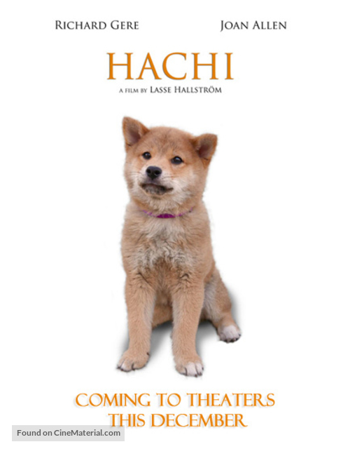Hachiko: A Dog's Story - Movie Poster