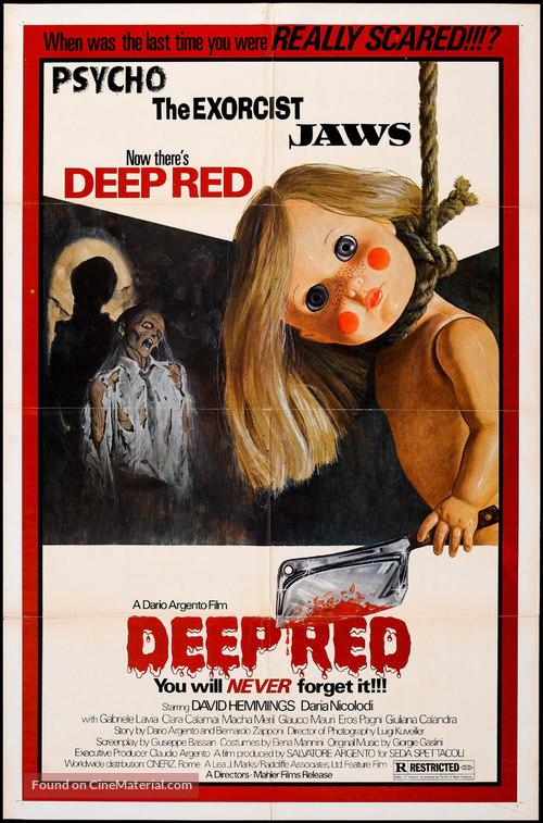 Profondo rosso - Theatrical movie poster