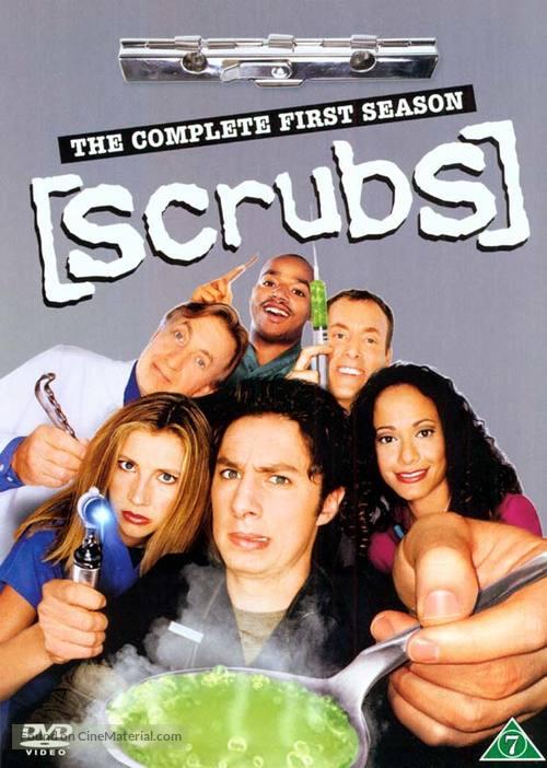 """Scrubs"" - Danish DVD movie cover"