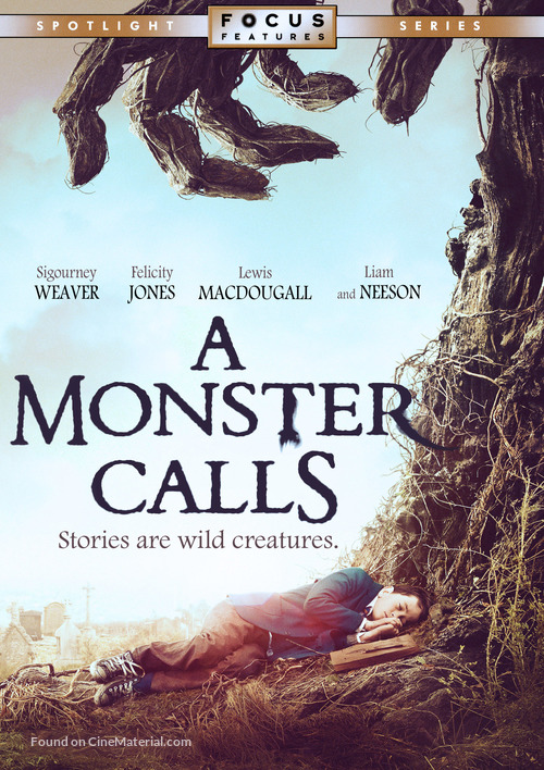 A Monster Calls - Movie Cover