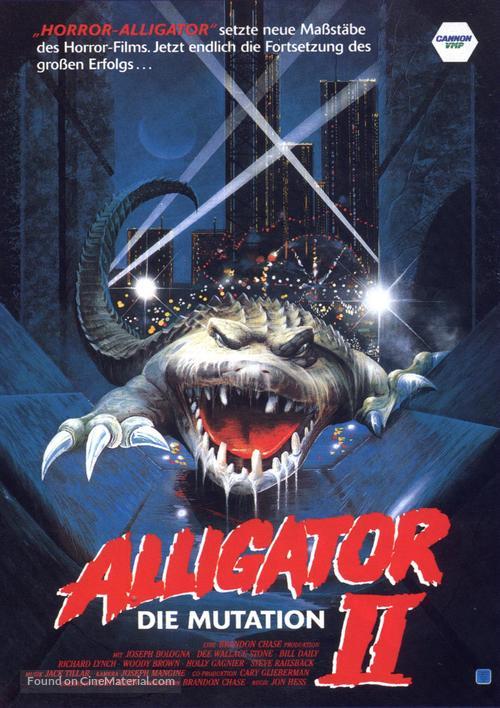 Alligator II: The Mutation - German VHS movie cover