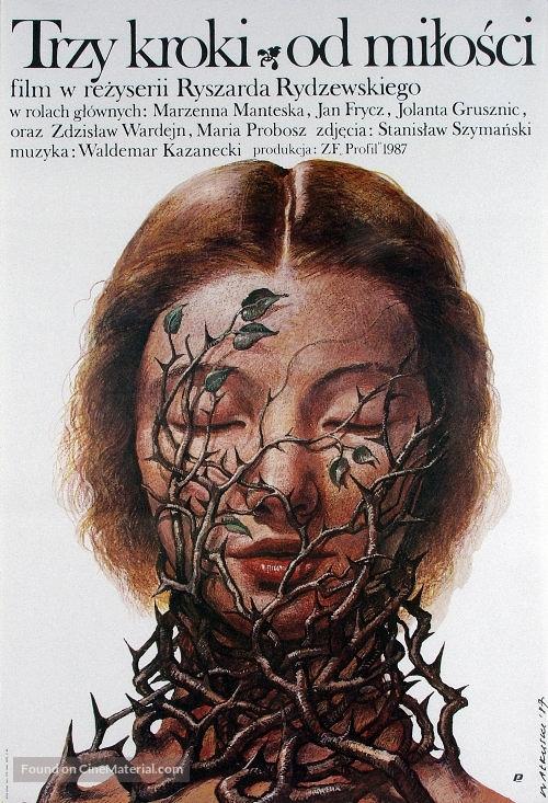 Trzy kroki od milosci - Polish Movie Poster