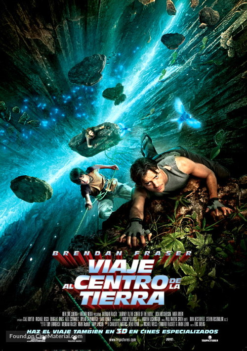 Journey to the Center of the Earth - Spanish Movie Poster