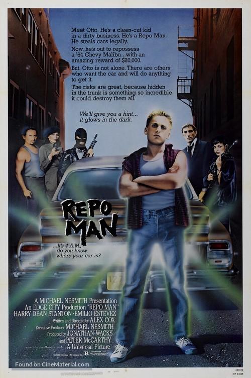 Repo Man - Movie Poster