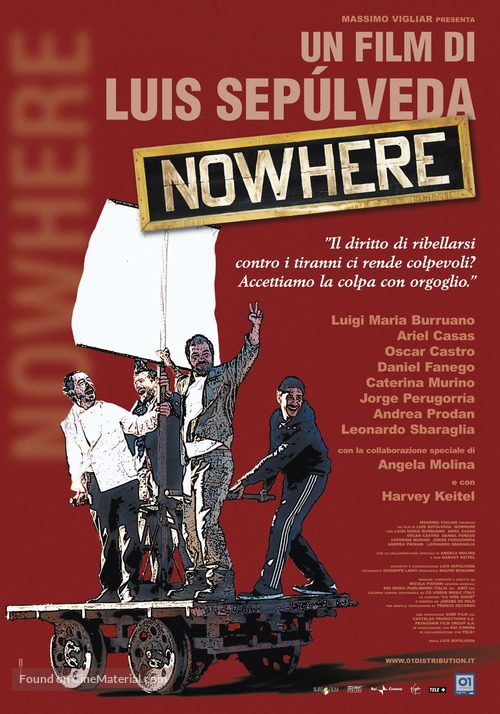 Nowhere - Italian Movie Poster