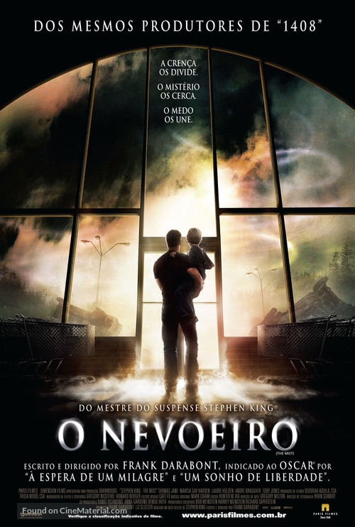 The Mist - Brazilian Movie Poster