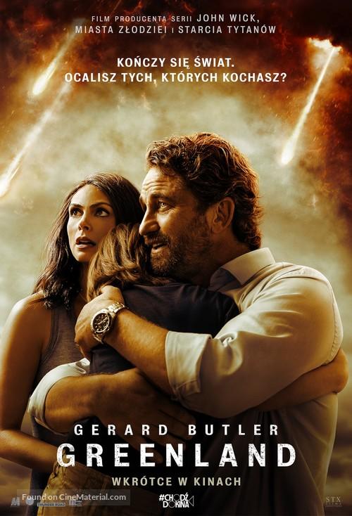 Greenland - Polish Movie Poster