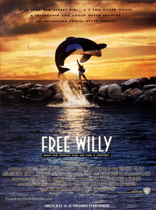 Free Willy - Movie Poster