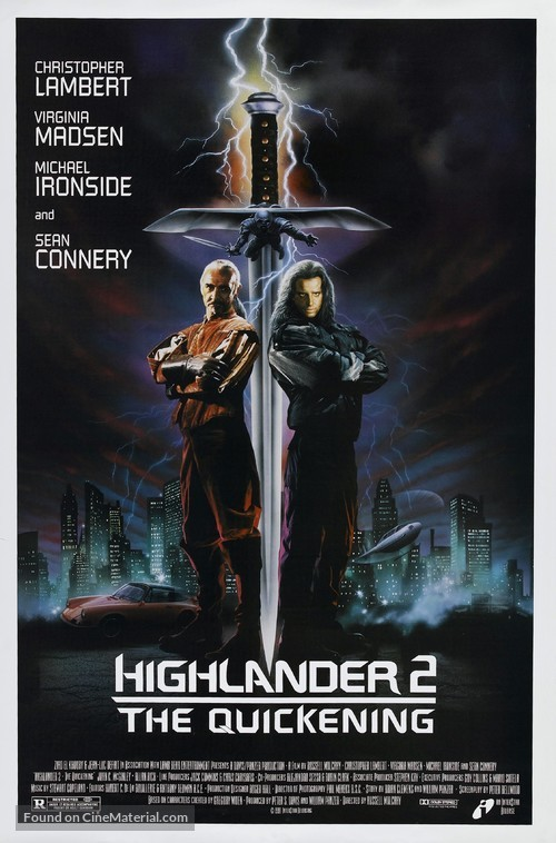 Highlander 2 - Movie Poster