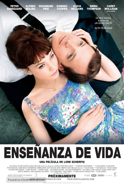 An Education - Argentinian Movie Poster