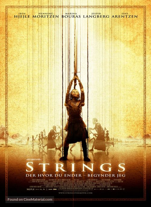 Strings - Danish Movie Poster
