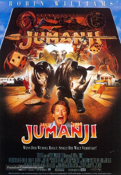 Jumanji - German Movie Poster