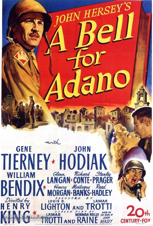 A Bell for Adano - Movie Poster