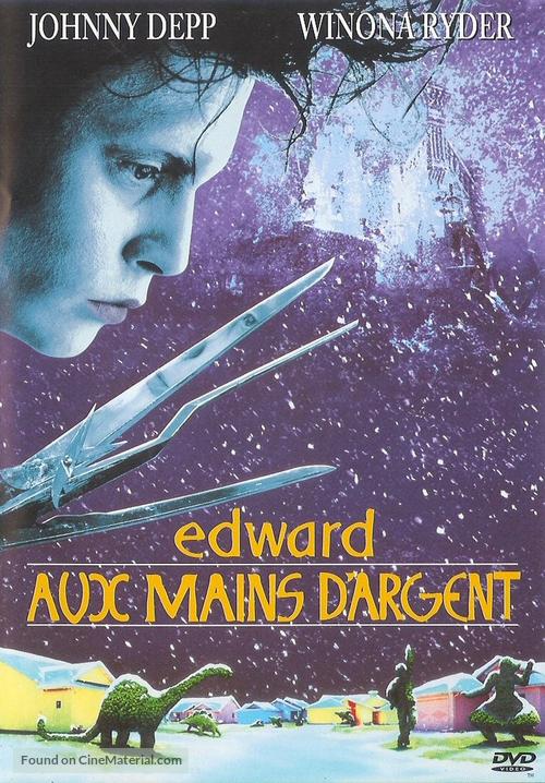 Edward Scissorhands - French DVD movie cover