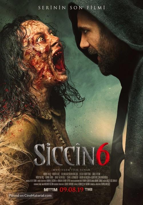 Siccin 6 - Turkish Movie Poster