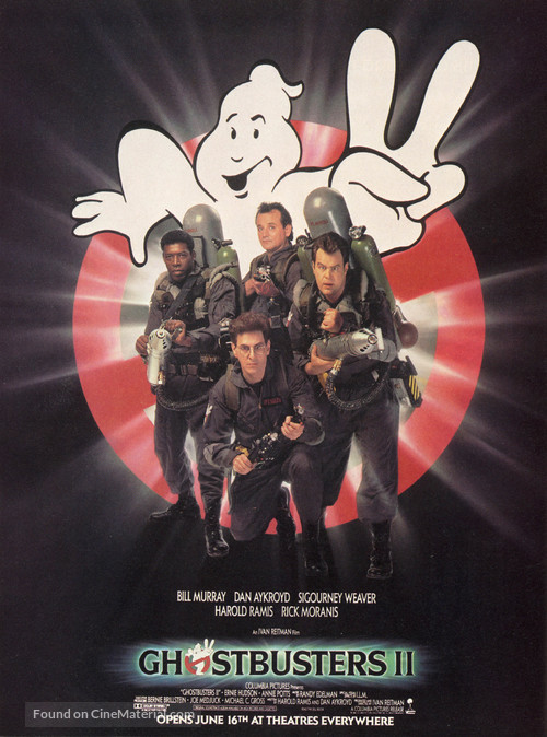 Ghostbusters II - Movie Poster