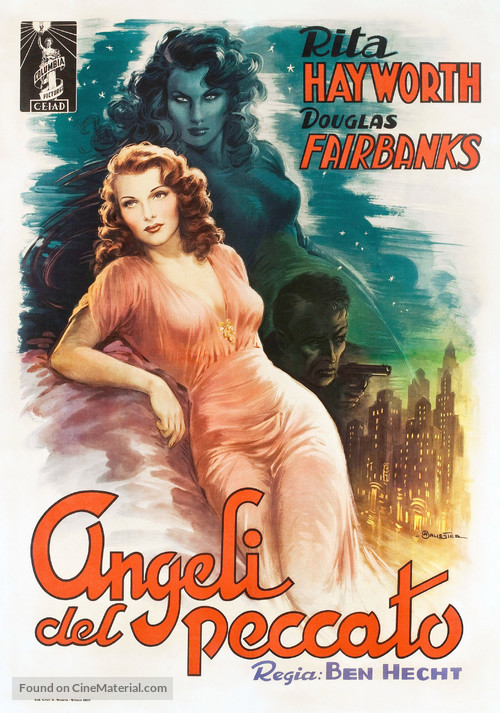 Angels Over Broadway - Italian Movie Poster