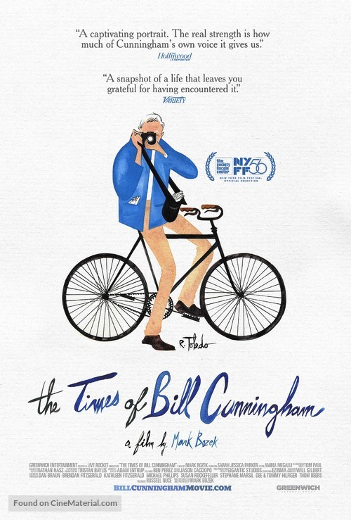 The Times of Bill Cunningham - Movie Poster