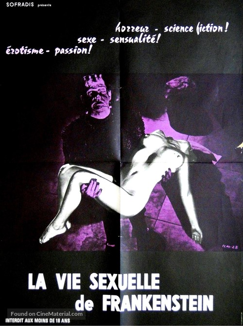 Kiss Me Quick! - French Movie Poster