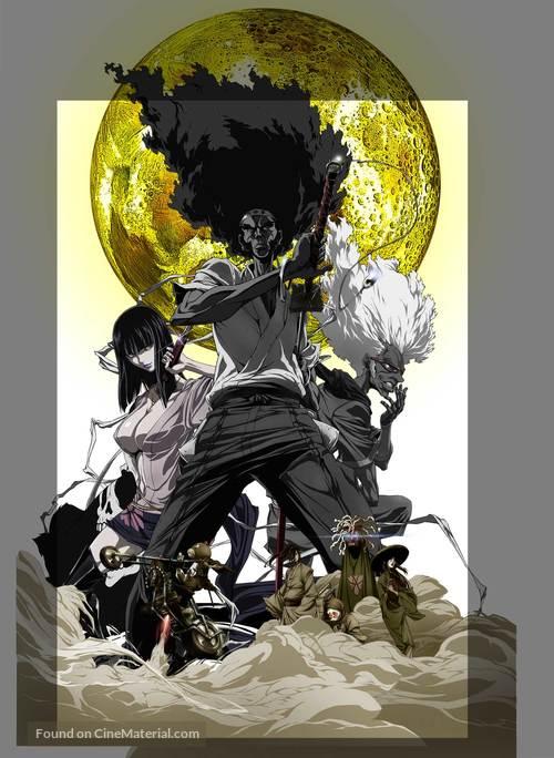 Afro Samurai: Resurrection - Japanese Key art