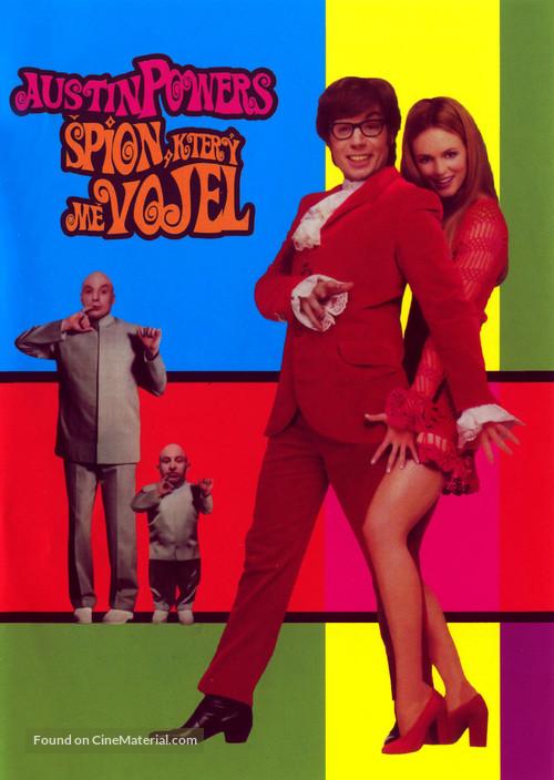 Austin Powers: The Spy Who Shagged Me - Czech Movie Cover